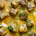 whole30 belgium meatballs