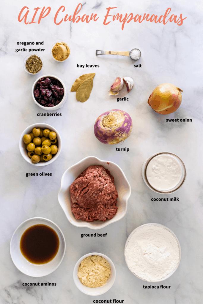 paleo empanada ingredients