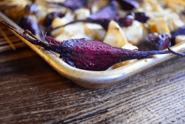 roasted beet
