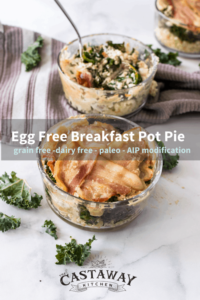 egg free breakfast pot pie