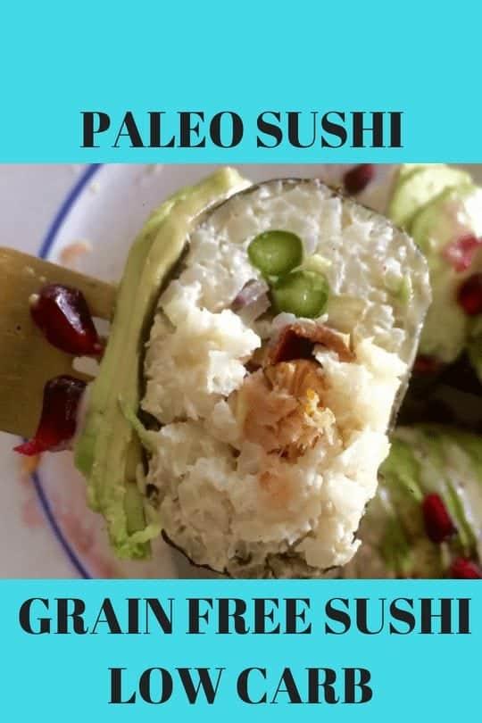 paleo sushi keto