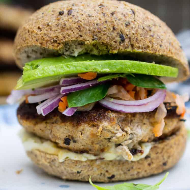 thai turkey burger paleo