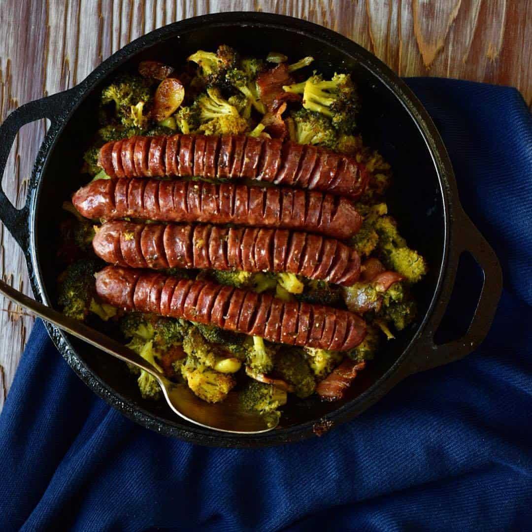 Sheet Pan Dinner Turmeric Veggies Sausages Whole30