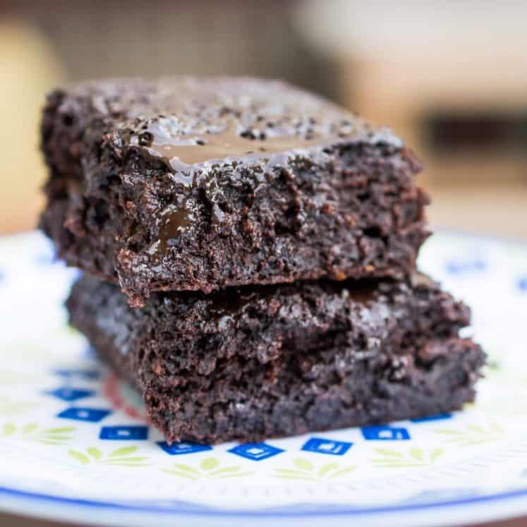 flourless avocado brownie