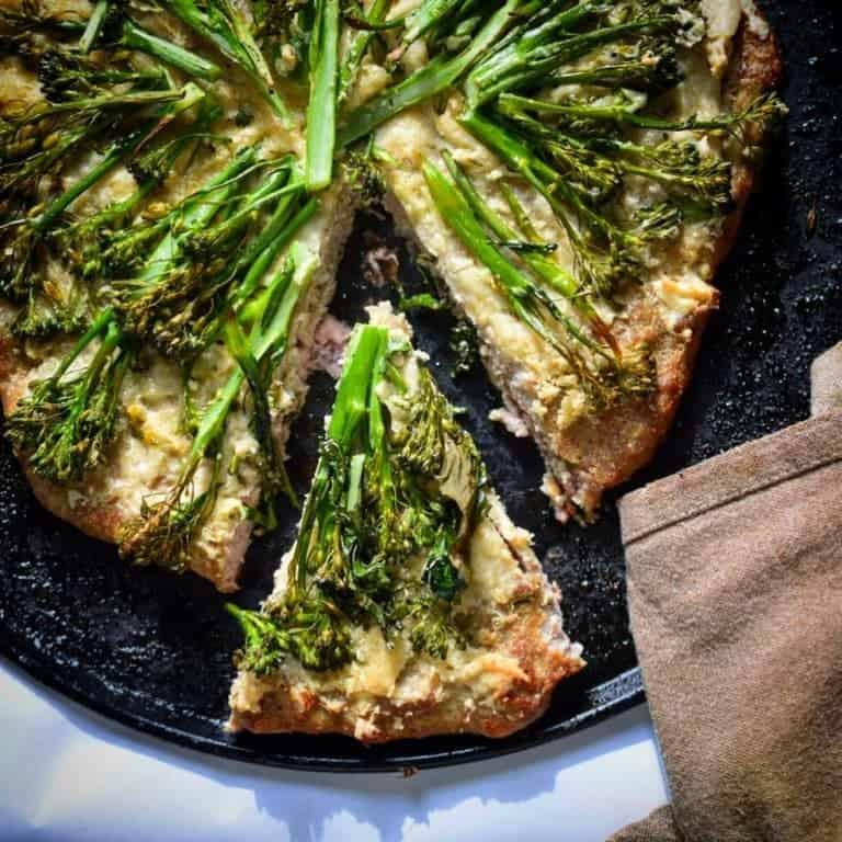 broccoli meatza