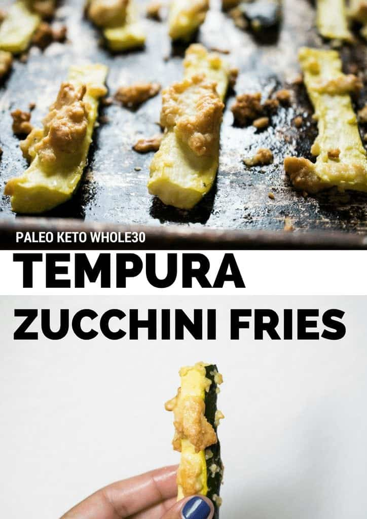 gluten free low carb tempura