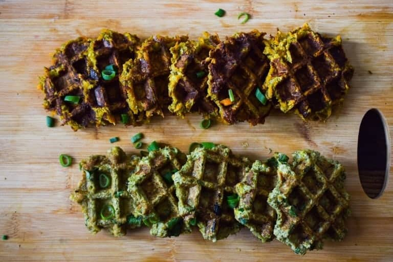 vegetable waffles