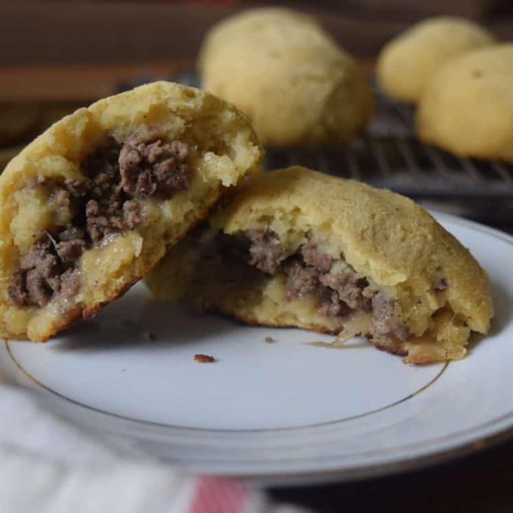 sweet potato buns stuffed with meat