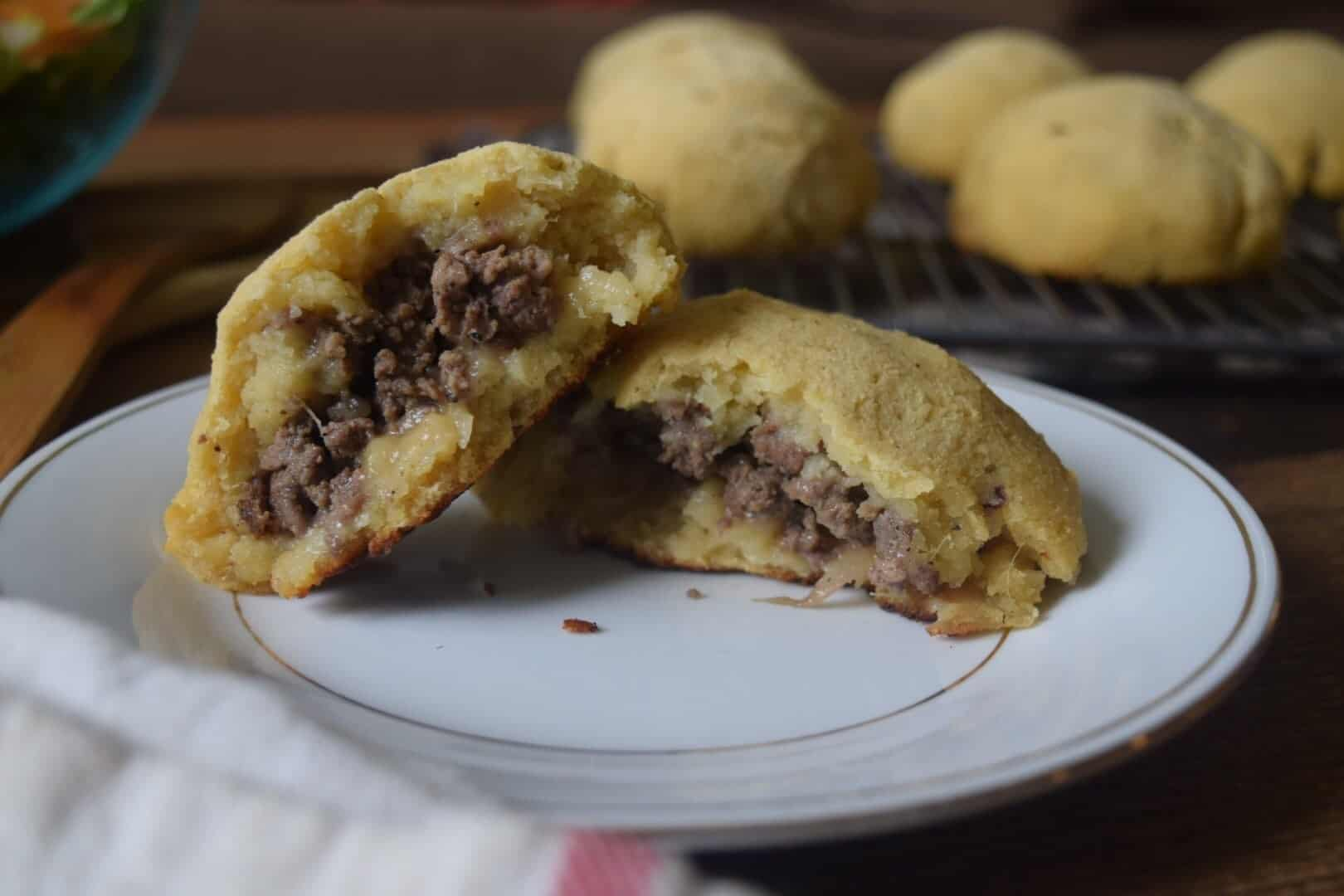 sweet potato buns stuffed with meat