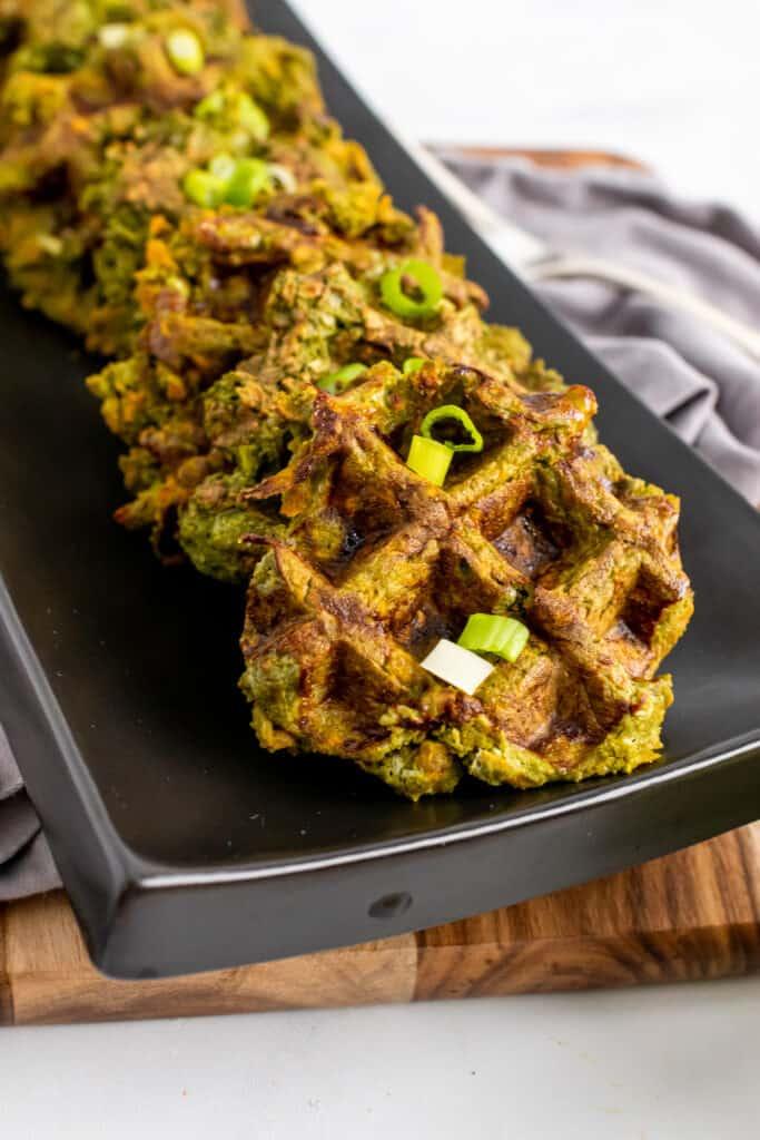vegetable waffles