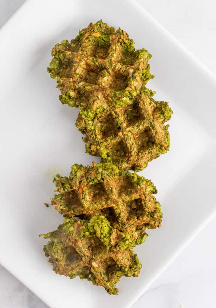 paleo vegetable waffles