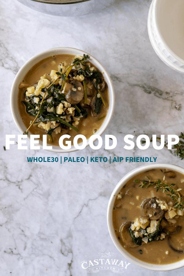 feel good soup pin