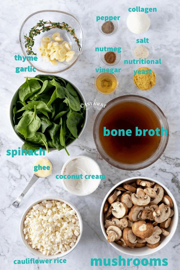 feel good soup ingredients