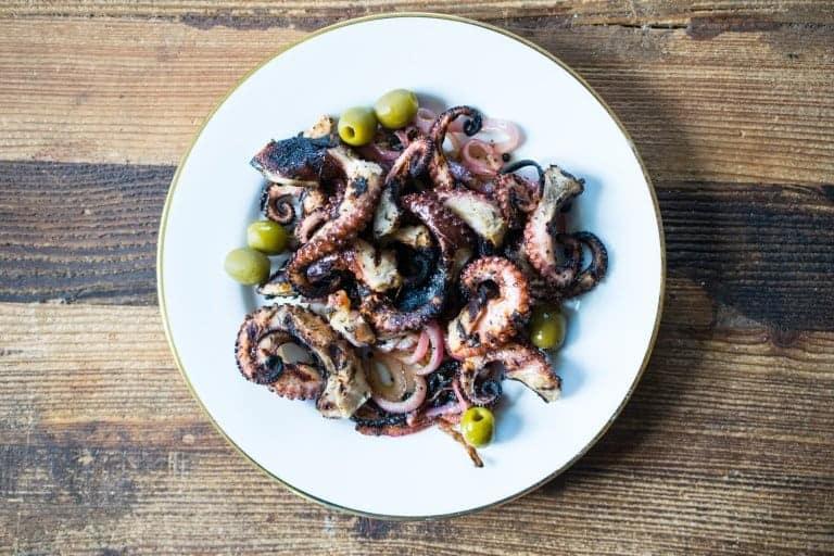 crispy octopus