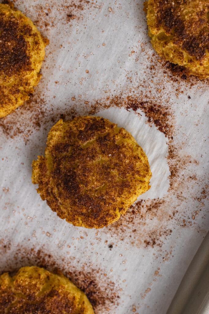 coconut flour snickerdoodle cookies