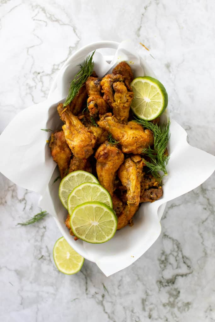 ginger lime wings