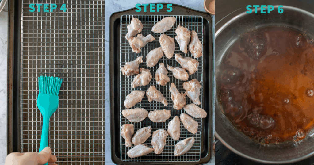 oven baked wings