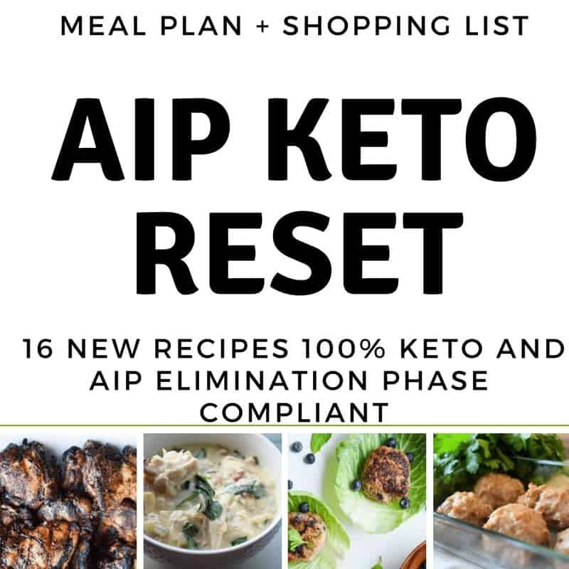 AIP KETO MEAL PLAN