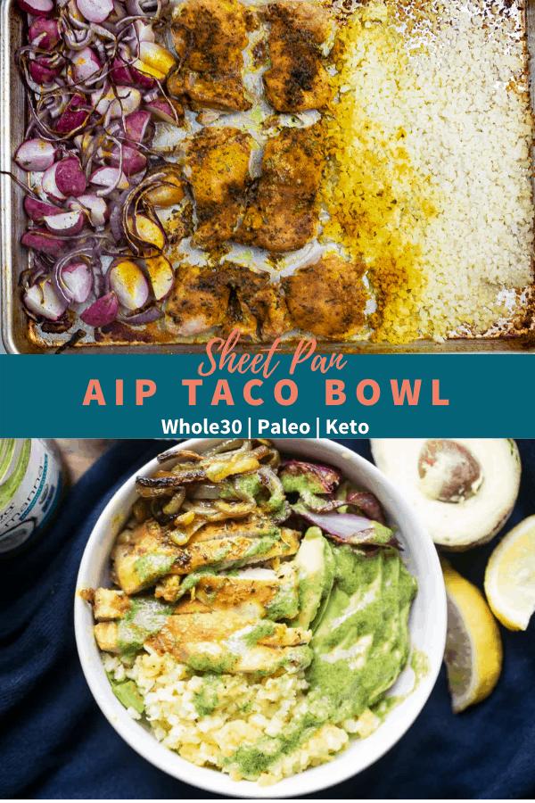 aip taco bowl