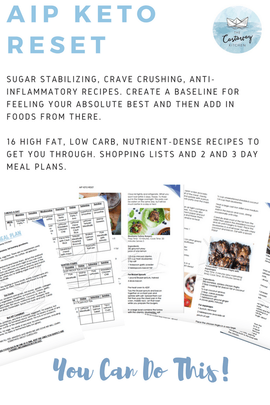 Aip Keto Reset With Shopping List And 2 Week Meal Plan