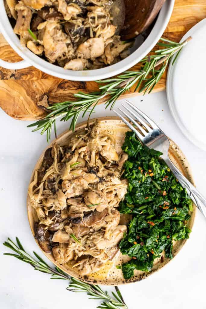 instant pot chicken and mushroom
