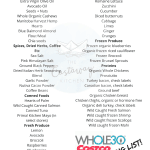 Whole30 Costco