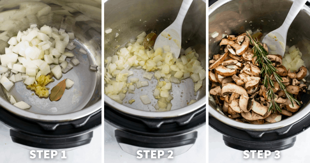 step by step chicken and mushrooms