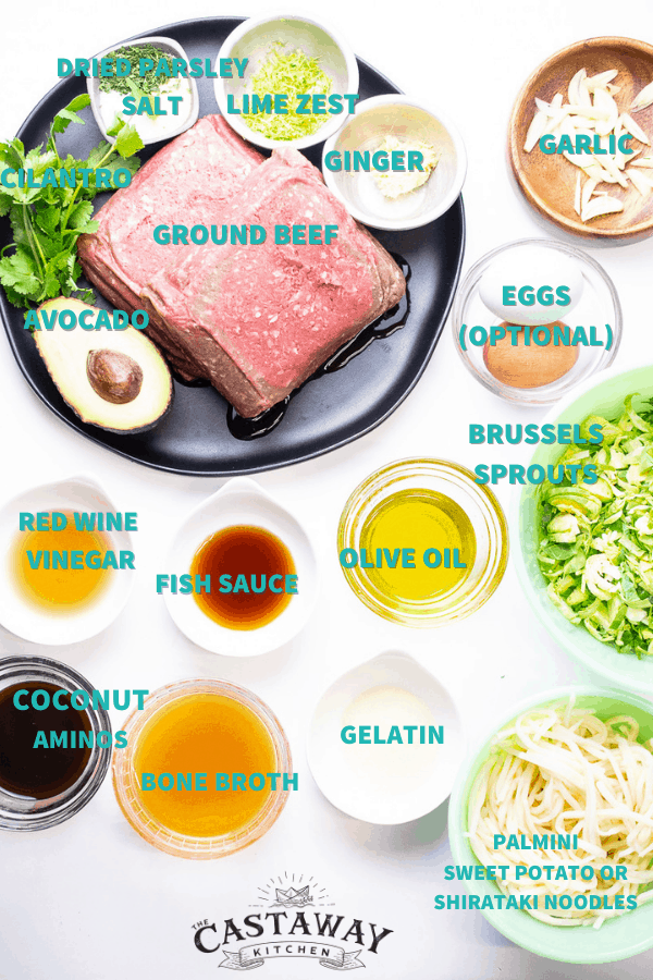 aip teriyaki bowl ingredients