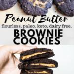 keto brownie cookie