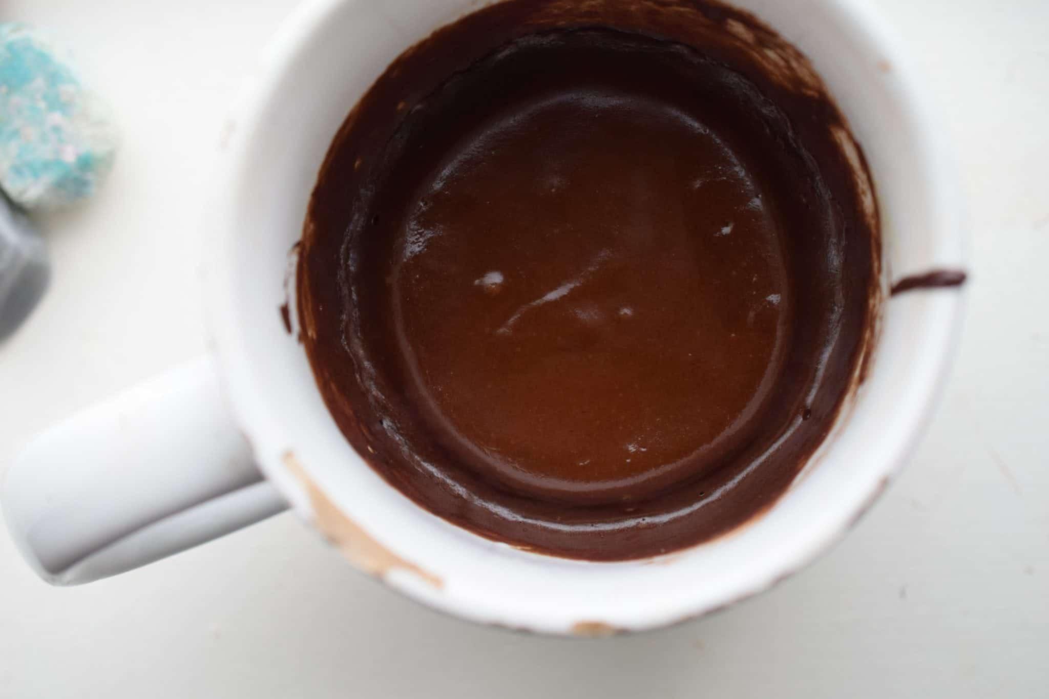 dairy free keto mug cake