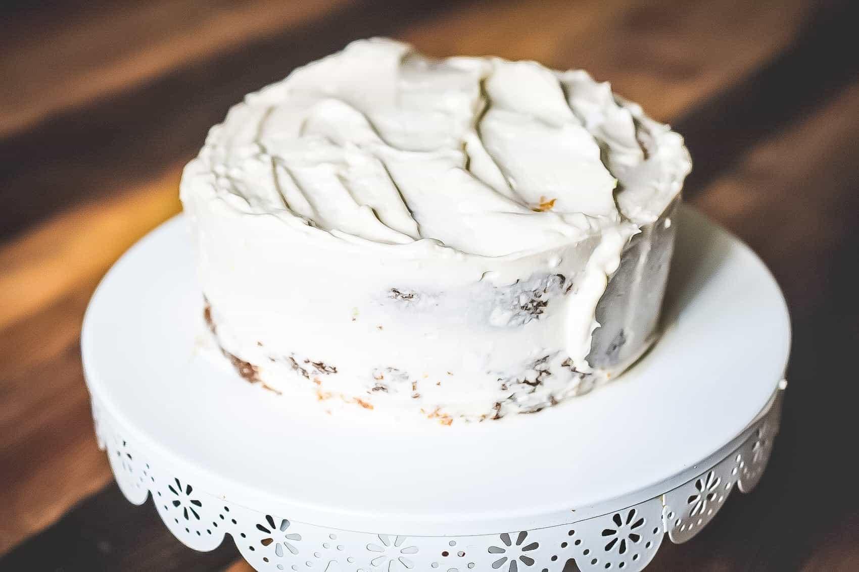 coconut keto cake