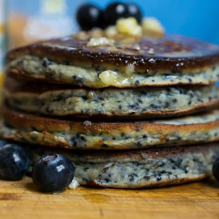 nut free dairy free keto pancakes