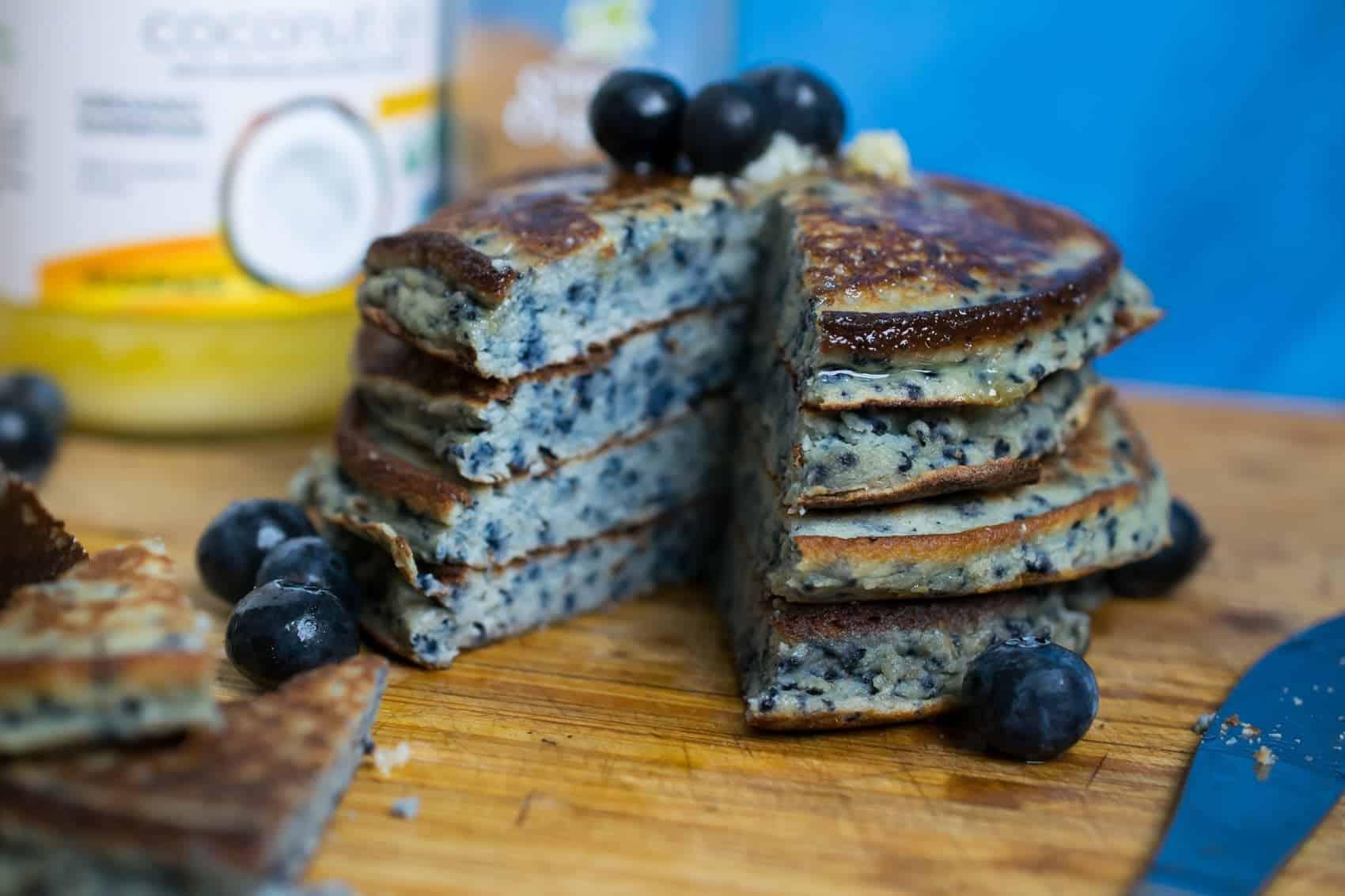 nut free paleo pancakes