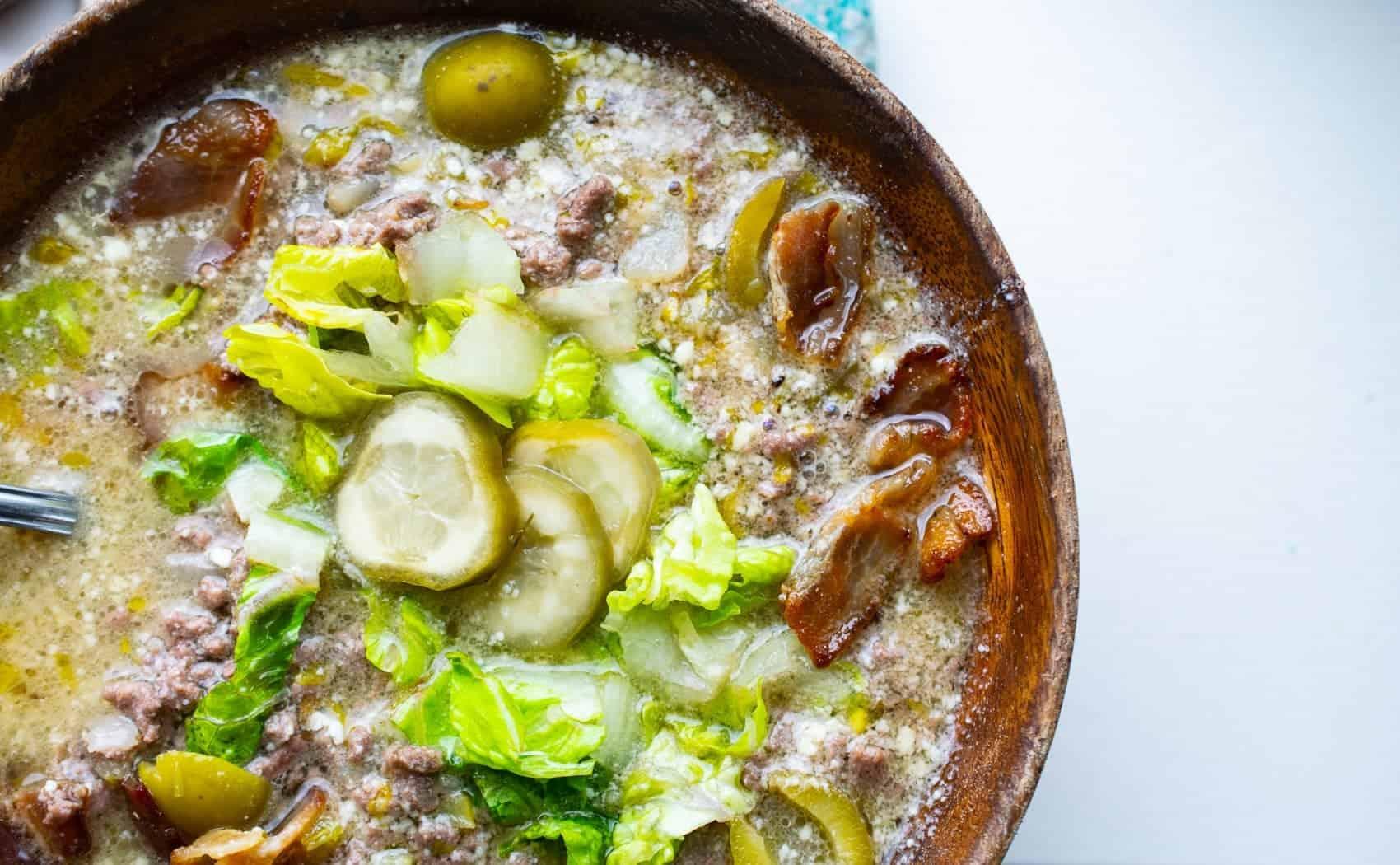 dairy free keto soup