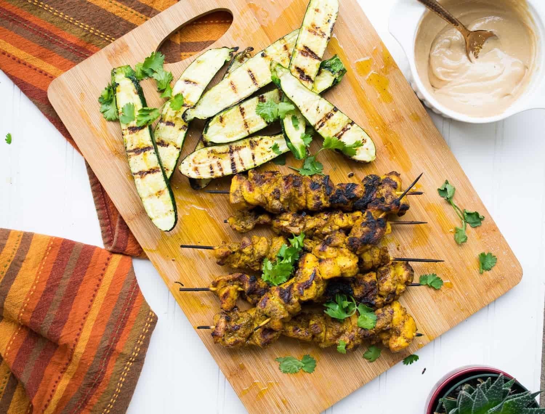 paleo chicken satay
