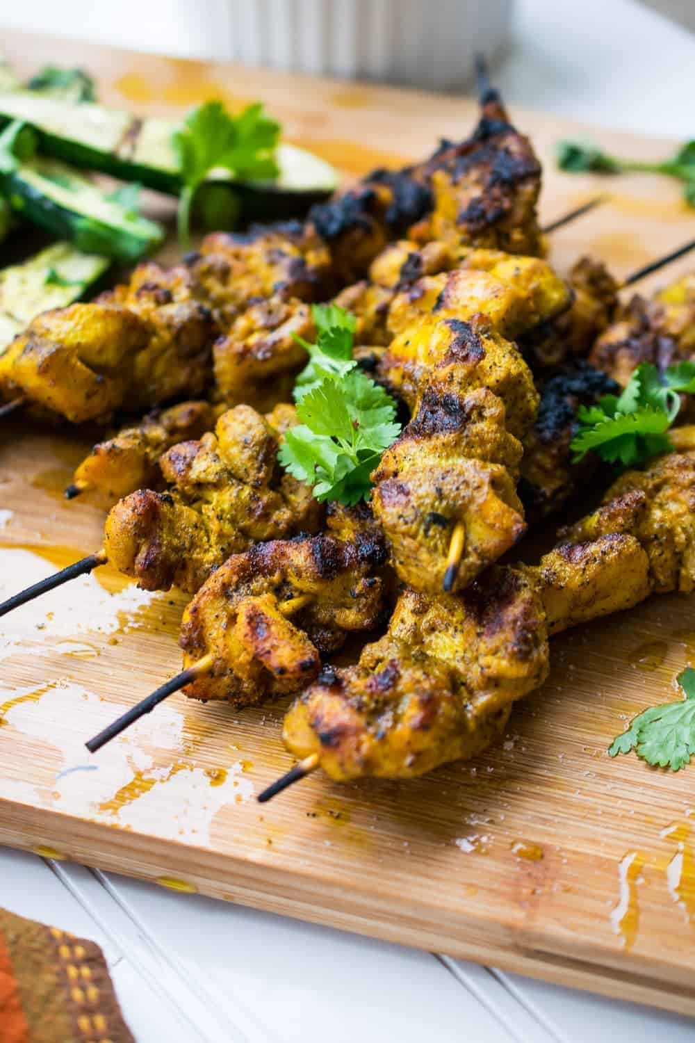 keto chicken satay