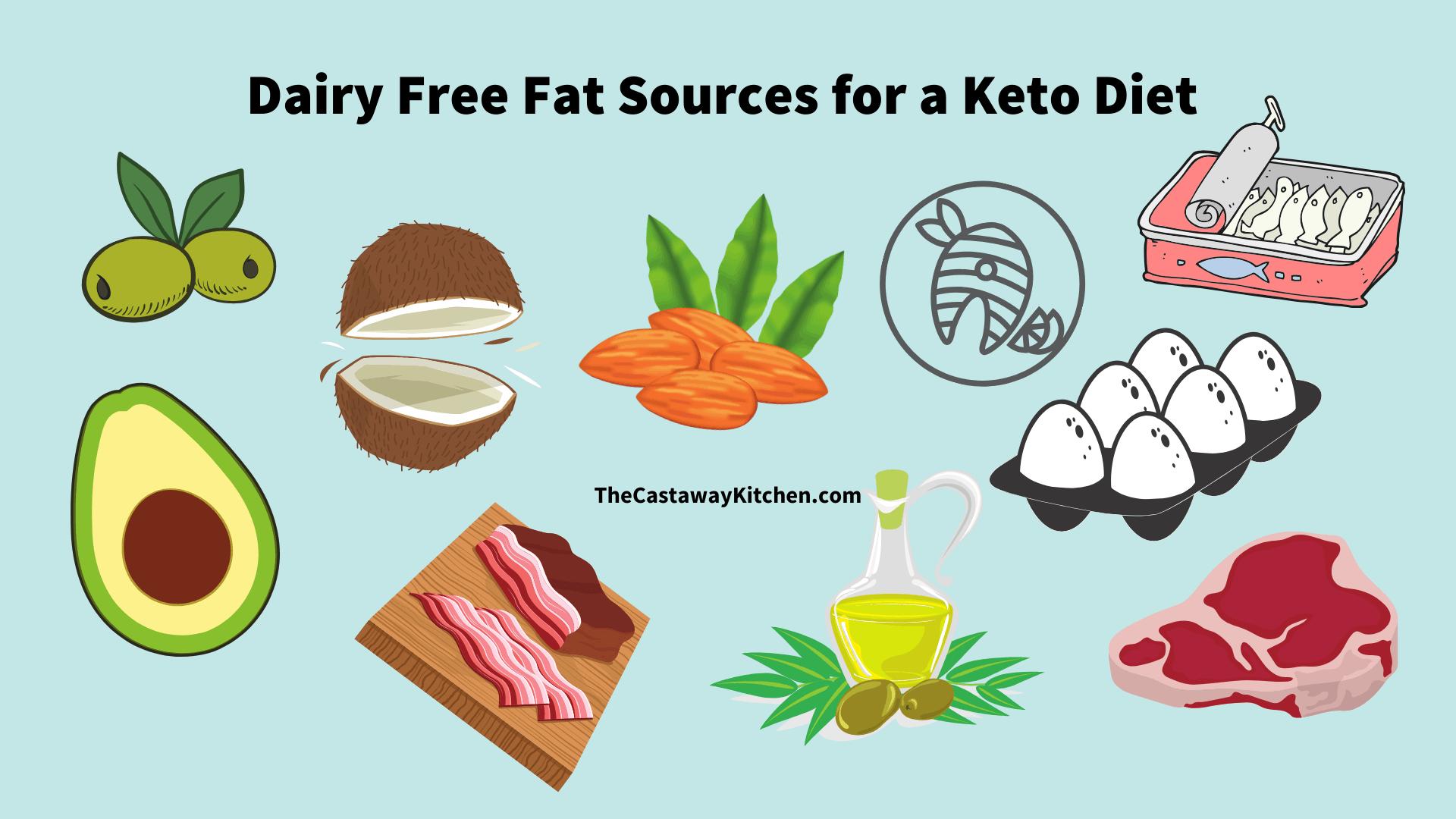 dairy free keto