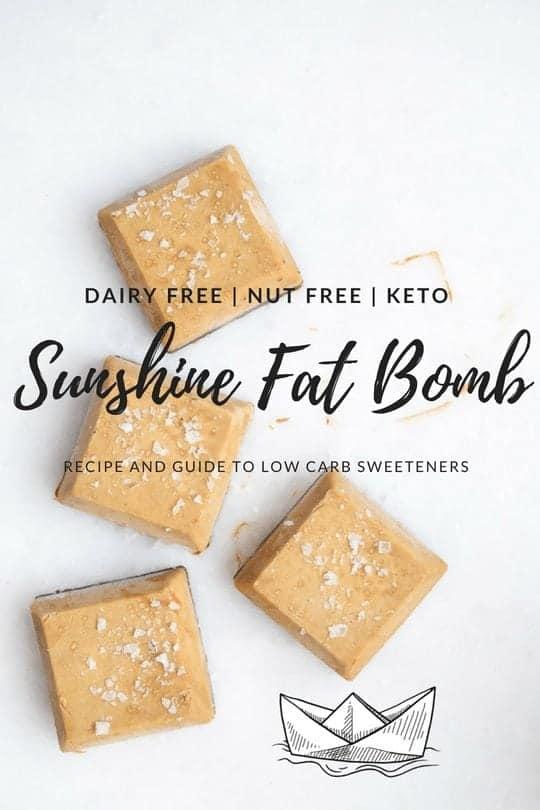 dairy free fat bomb