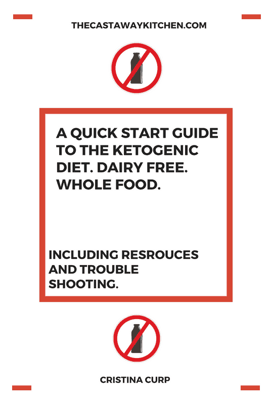 quick start guide to dairy free keto