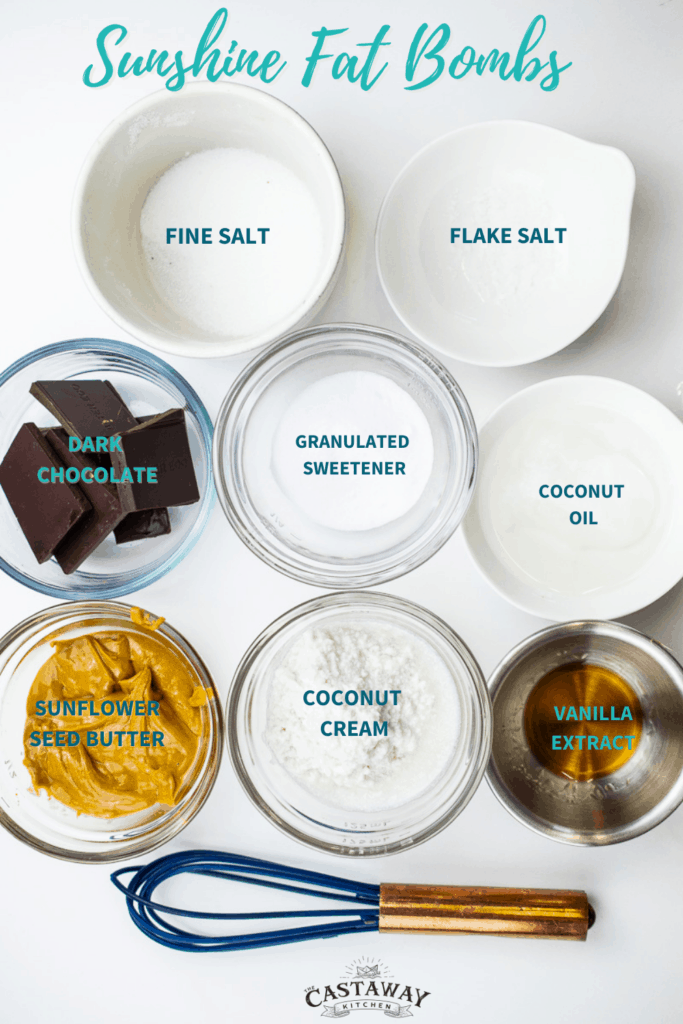 dairy free fat bomb ingredients