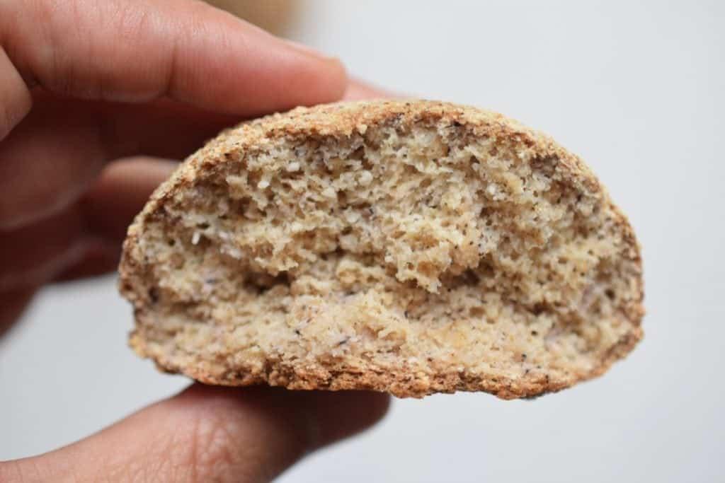 keto bread and soup