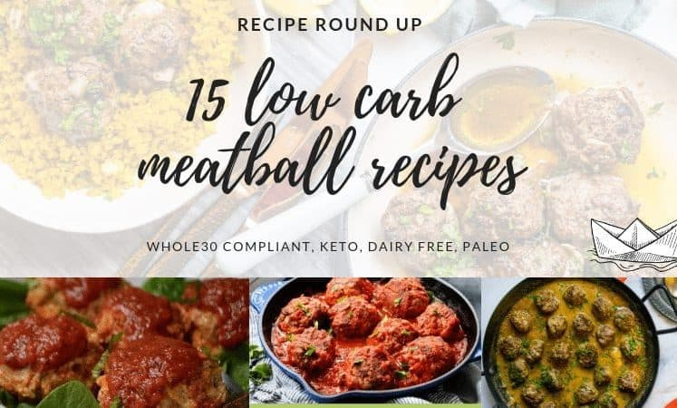 15 LOW CARB MEATBALLS