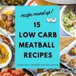 Dairy Free low carb meatballs
