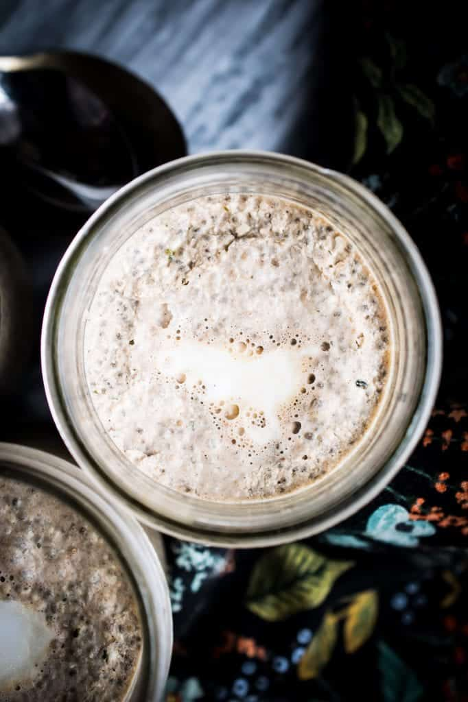 protein chia pudding