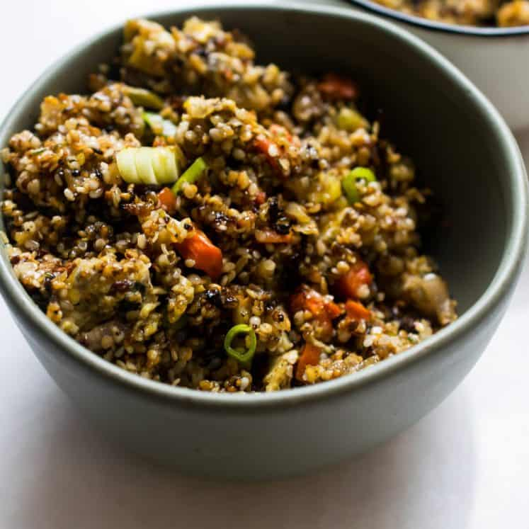 soy free fried rice