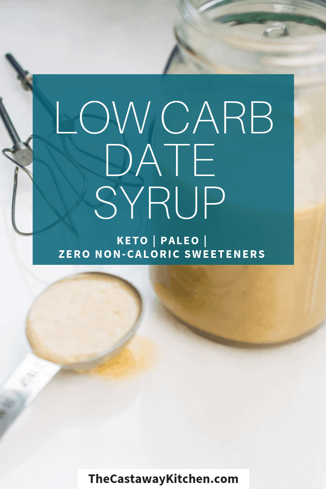 homemade low carb syrup