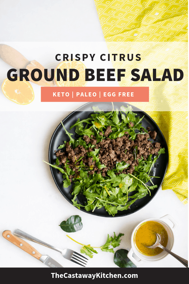 ground beed salad