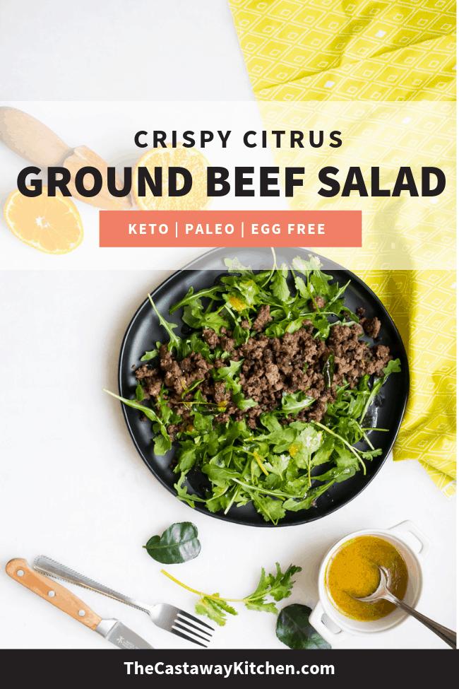 ground beed salad