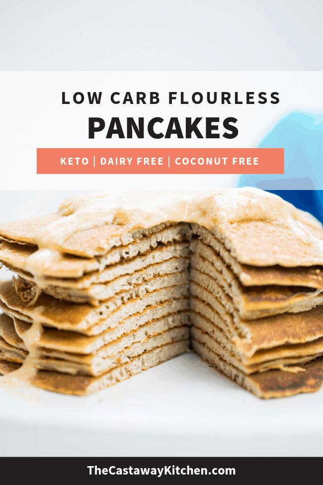 flourless keto pancakes