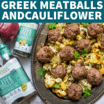 Whole30 Greek Meatballs